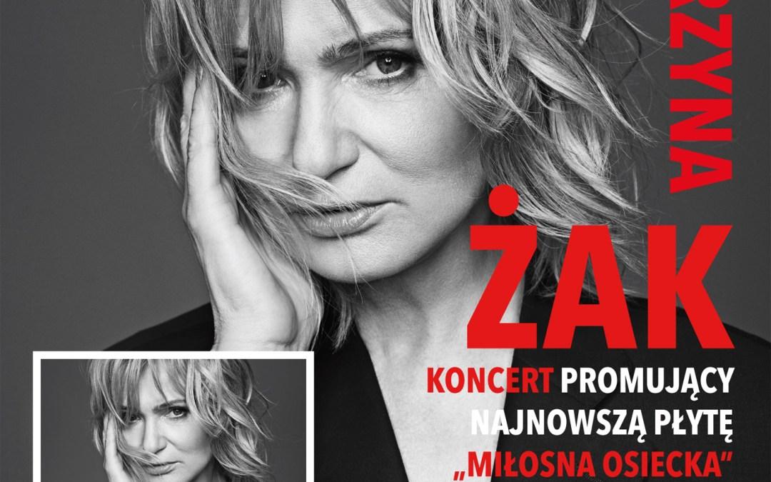"""2019-10-09: Koncert Katarzyny Żak promujący płytę """"Miłosna Osiecka"""""""