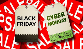 2019-11-29: Black Friday & 2019-12-02: CYBER MONDAY