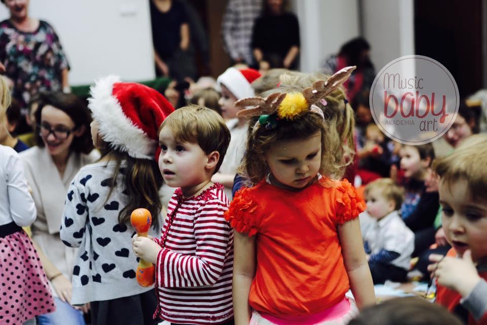 2019-12-15: Koncert świąteczny dla niemowląt i dzieci do lat 6!