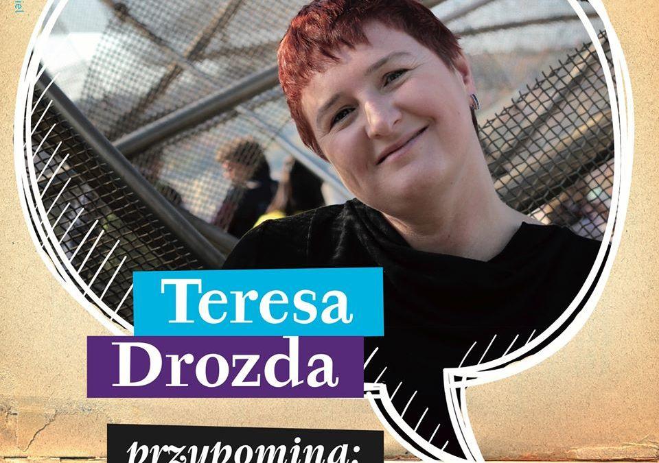 2019-12-16: Teresa Drozda przypomina…