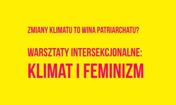 2020-01-23: Klimat i feminizm / warsztaty intersekcjonalne