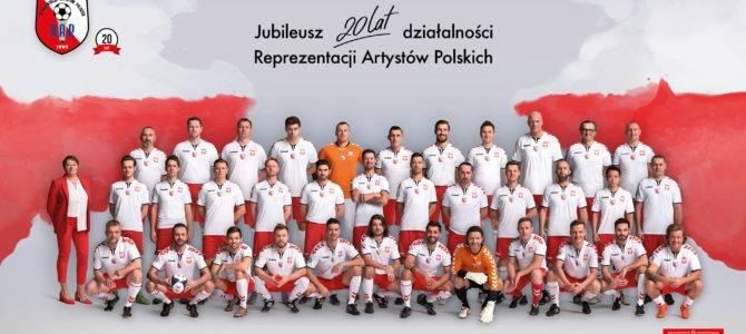 2020-03-09: Jubileusz Reprezentacji Artystów Polskich w piłce nożnej