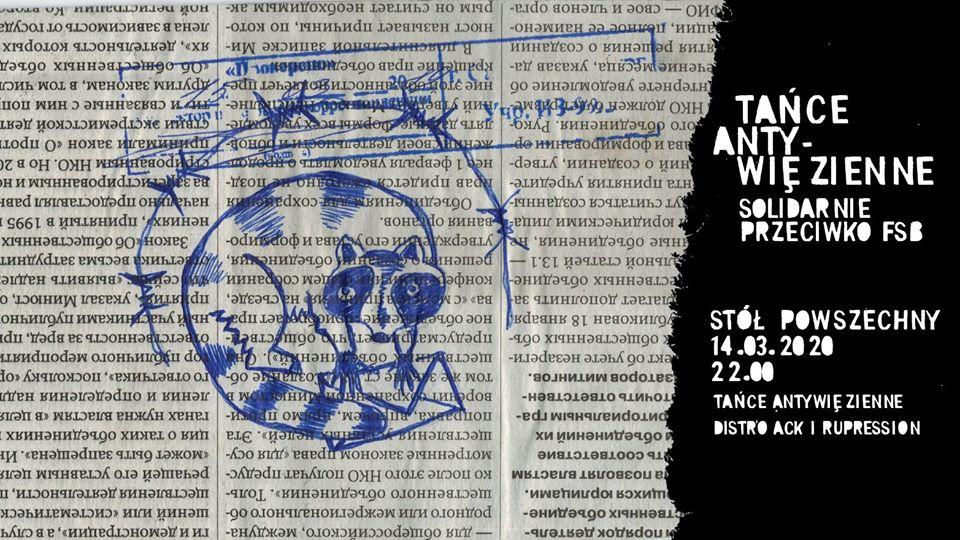 2020-03-14: Tańce antywięzienne: solidarnie przeciwko FSB