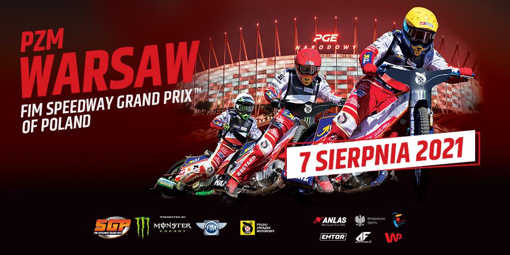 2021-08-07: 2020 PZM Warsaw FIM Speedway Grand Prix of Poland – zmiana terminu