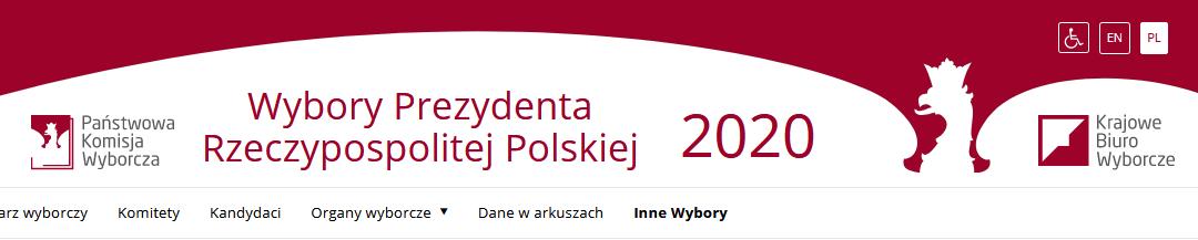 2020-07-12: Wybory Prezydenta Rzeczypospolitej Polskiej – 2 tura