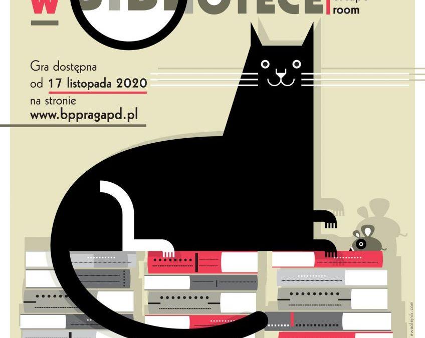 2020-11-28 do 30: Śledztwo w bibliotece – wirtualny escape room