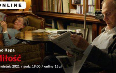 "2021-04-23: Kino Kępa: ""Miłość""   online"