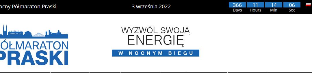 2022-09-03: VII Nocny 4F Półmaraton Praski & Praska Piątka (nowy termin)