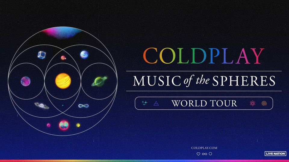 2022-07-08: Coldplay | MUSIC of the SPHERES WORLD TOUR