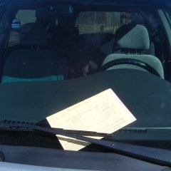 Homily from Sept. 24, 2017: Parking Ticket