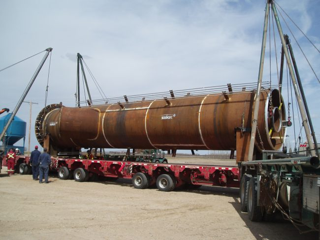 Callidus Flare Stack Fabrication Project for Shell Canada
