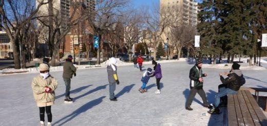 Meewasin Skating rink