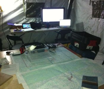 NWT command post