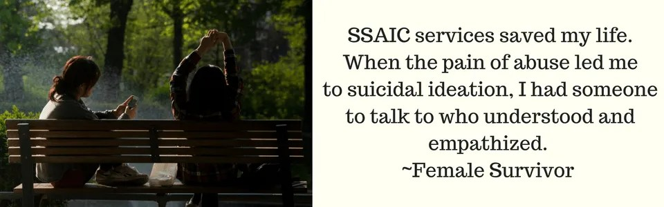 SSAIC services saved my life.