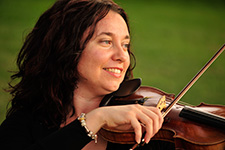 Oxana Ossiptchouk, Principal Violin II, Saskatoon Symphony Orchestra