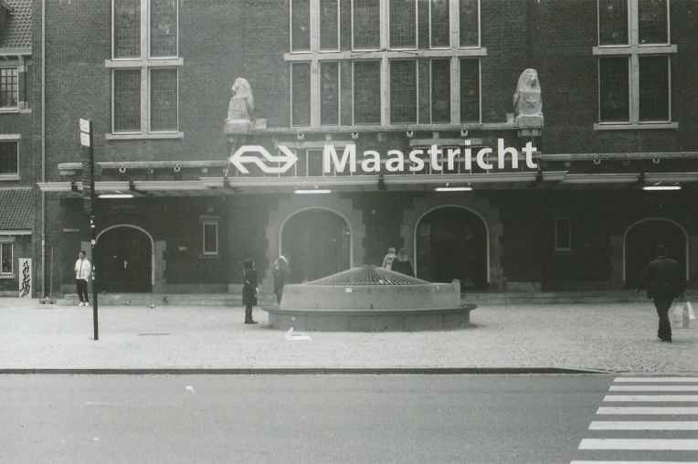 Central train station of Maastricht