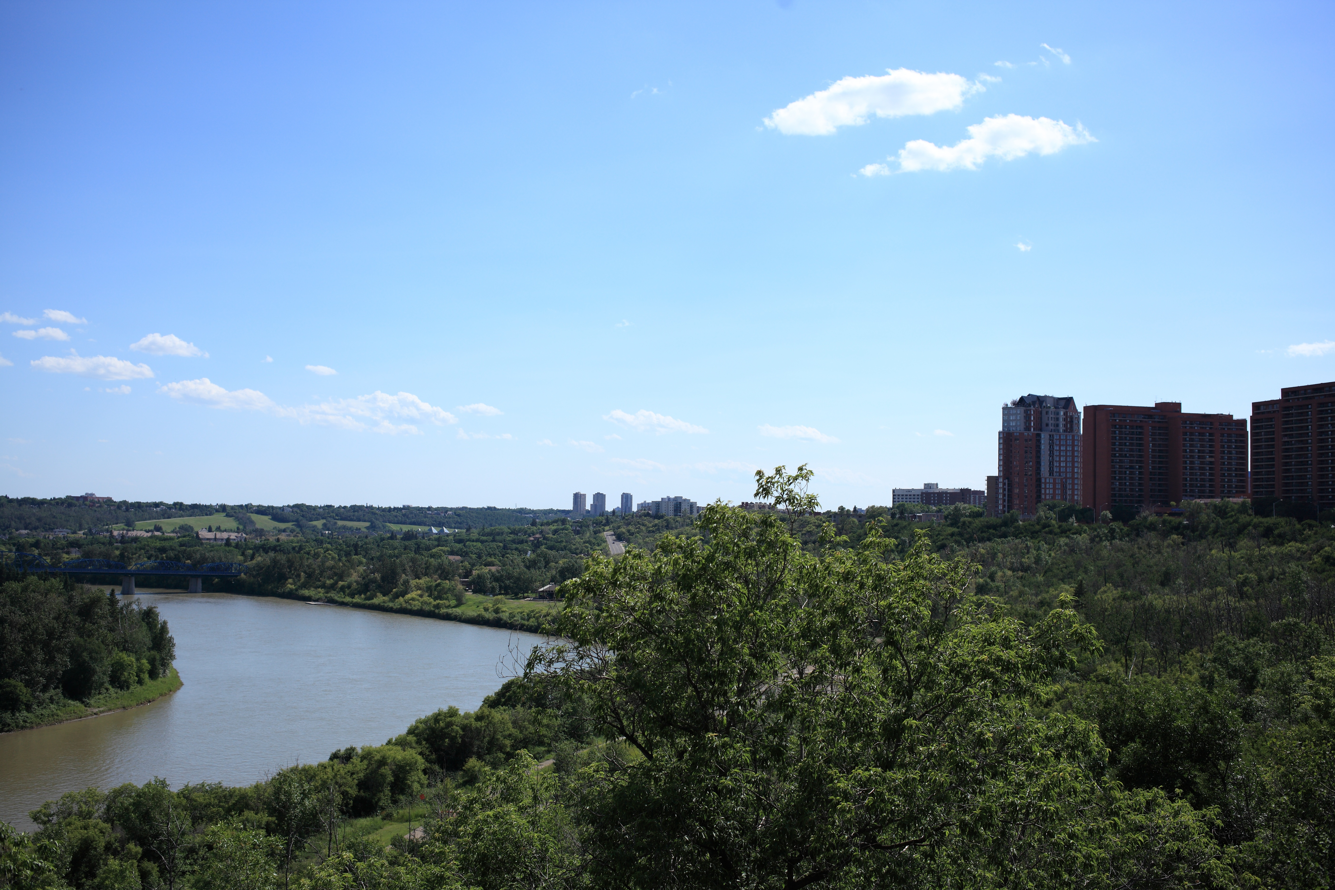 How clean is the North Saskatchewan River?