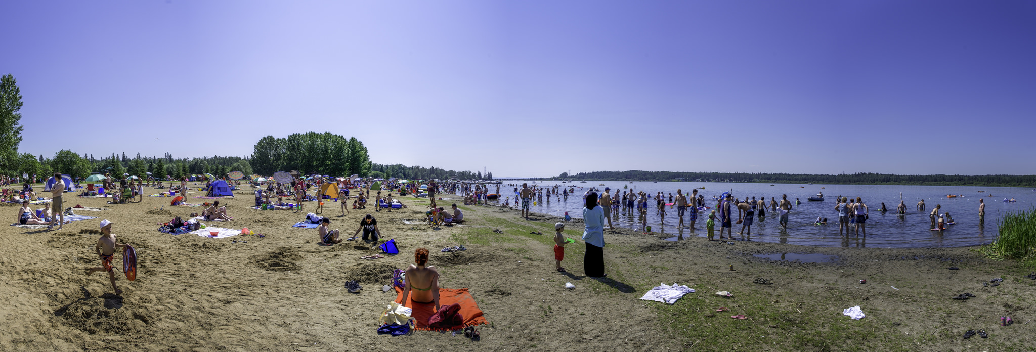 If the sun comes out be sure your beach is swimmable! Water quality advisories in Alberta