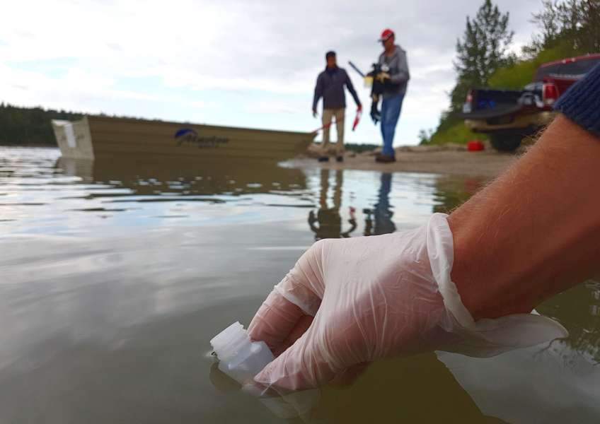 Recreational water quality monitoring underway on North Saskatchewan River!