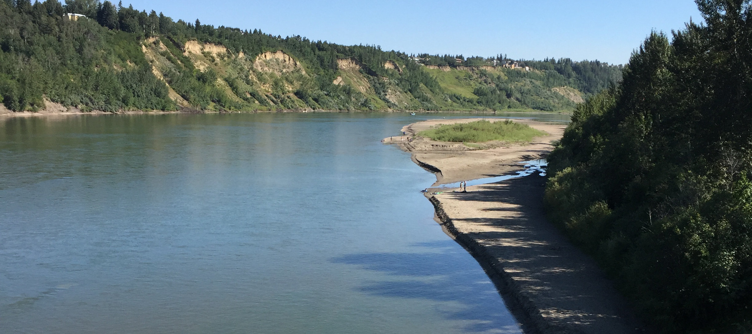 Sandbar near Fort Edmonton added to testing program, latest results available