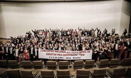 Encontro da Frente Brasil de Juristas pela Democracia, em Brasília