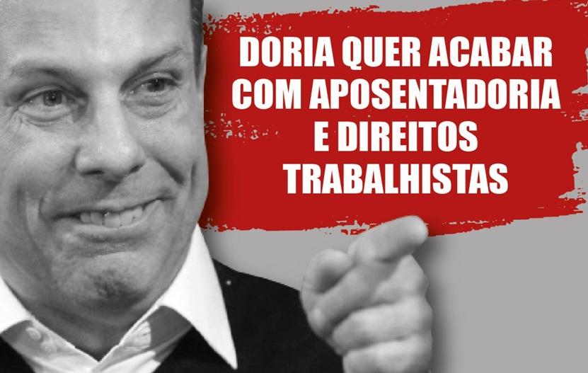 O prêmio do TRT ao inimigo dos trabalhadores, João Dória