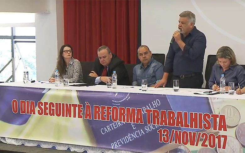 'Reforma' trabalhista será alvo de disputa nas ruas e nos tribunais