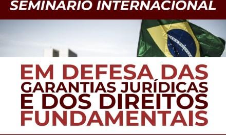 ORIENTAÇÕES SOBRE O I SEMINÁRIO INTERNACIONAL DA ABJD