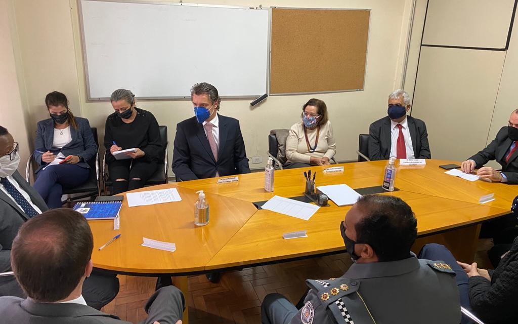 sasp presente na reunião em defesa do direito de manifestantes