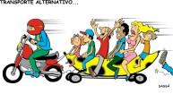 18/03/2000 - Proliferação de mototáxis e outros transportes alternativos em londrina.