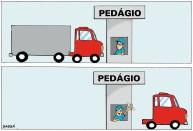19/03/2000 - Pedágio consome lucro de caminhoneiros.