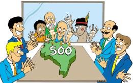 25/04/2000 - Continua a grande festa dos 500 anos de brasil.