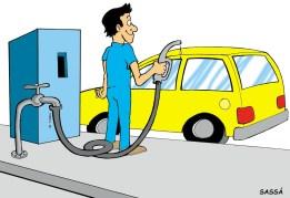 29/04/2000 - Gasolina adulterada nos postos da cidade.
