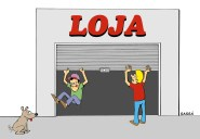 30/05/2000 - Horário de fechamento do comércio divide opinião dos lojistas.