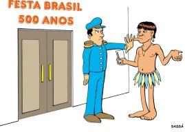 31/03/2000 - Ano de comemoração dos 500 anos de brasil.