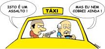 22/04/2001 - Taxistas sofrem com assaltos.
