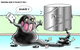 Pool de combustíveis é indiciada pelo derramamento de combustível no ribeirão Lindóia.