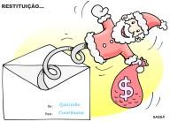 Restituição do imposto de renda.