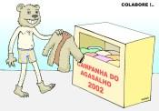 Campanha do agasalho 2002.