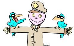 Polícia ausente causa aumento de criminalidade.
