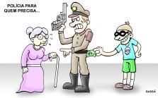 Registrados casos de abuso policial.