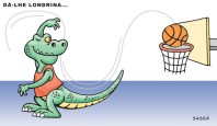 O time de basquete de londrina faz bonito no campeonato.