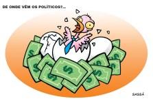 De onde vem os políticos?