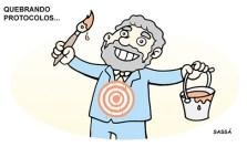 12 janeiro Lula quebra alguns protocolos no processo de posse de governo.