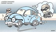 21 janeiro Ladrões preferem carros velhos.