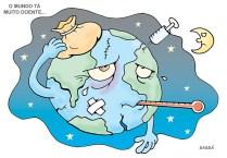 24 de março Mundo sofre com a guerra.