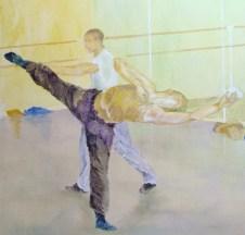 Alison Keenan, In the Dance Studio 6