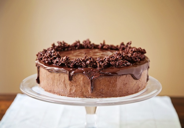 Individual Triple Chocolate Mousse Cake