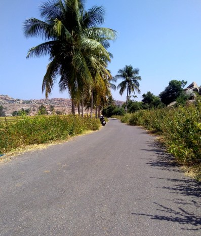 Passing through country roads.... enroute to Anegundi from Hippie Island, Hampi.