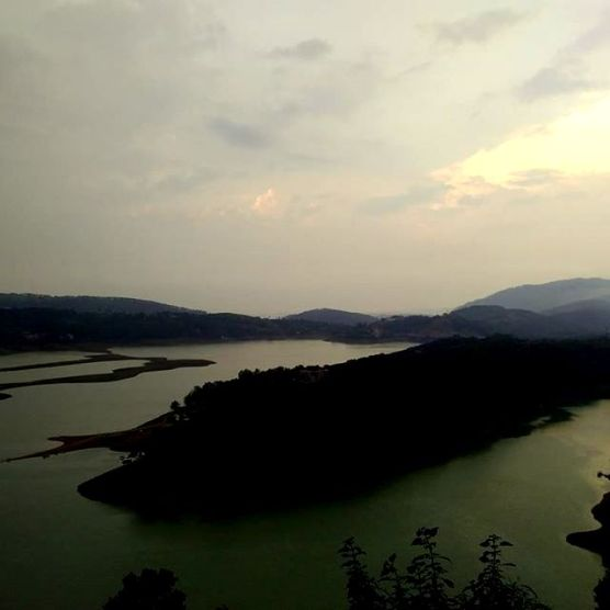 Umiam Lake or Barapani Lake, as called locally. Worth the stopover enroute to Shillong.